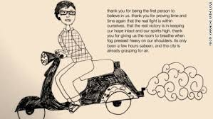 Sabeen on scooter