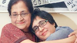Sabeen with Mahenaz